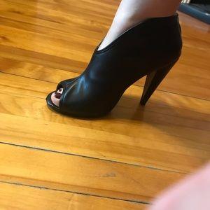 High heel open toe shoes